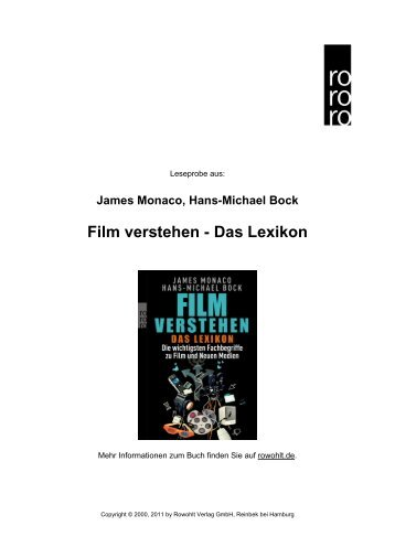 Film verstehen - Das Lexikon - Rowohlt