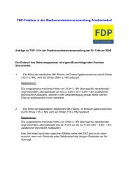 FDP-Fraktion in der Stadtverordnetenversammlung ... - Pirate Leaks