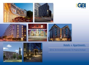 Hotels + Apartments. - GBI AG