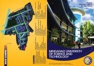 Brochure - Mindanao University of Science and Technology
