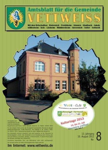 August 2012 - Gemeinde Vettweiss