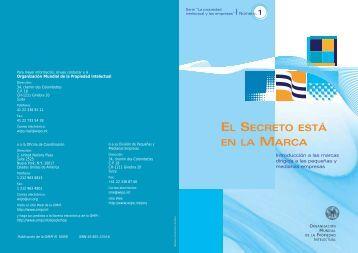 El secreto está en la marca: Introducción a - WIPO