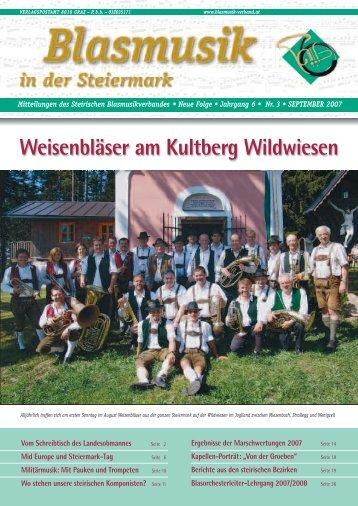 Weisenbläser am Kultberg Wildwiesen - Steirischer ...
