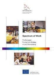 Quality at work - Ministerium für Arbeit, Soziales, Frauen und Familie ...