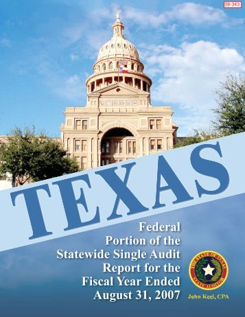 Independent Auditors' Reports - State Auditor's Office
