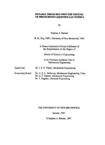 Top Venting R-22 Tests - University of New Brunswick