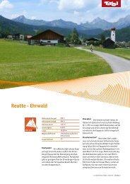 Reutte - Ehrwald - Tirol