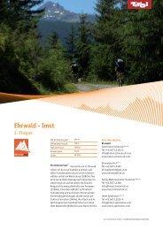 Ehrwald - Imst - Bike Tirol