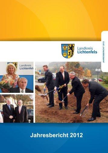 Jahresbericht 2012 (5239 kB) - in Lichtenfels - Bayern