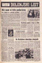 17. oktober 1963 (št. 707) - Dolenjski list