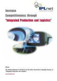IPLnet - Swiss Industrial Networks Day