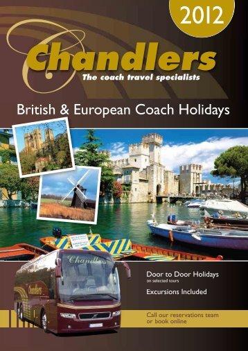 British & European Coach Holidays - Chandlers Coaches