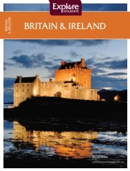BRITAIN δ IRELAND - Explore Holidays