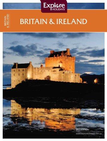 BRITAIN δ IRELAND - Explore Holidays
