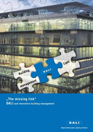 DALI and innovative building management