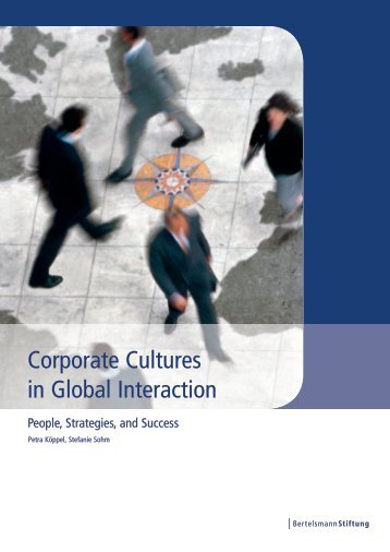 Corporate Cultures in Global Interaction - Synergy Consult