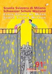 Annuario nr. 91 - anno scolastico 2009 2010 - Scuola Svizzera Milano