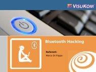 Bluetooth Hacking - IHK Niederbayern