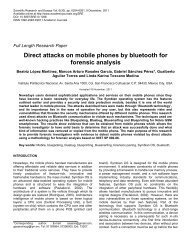 Direct attacks on mobile phones by bluetooth for forensic analysis