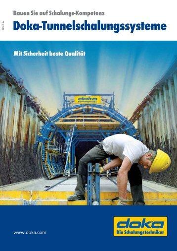 Bauen Sie auf Schalungs-Kompetenz Doka-Tunnelschalungssysteme
