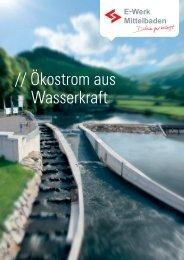 // Ökostrom aus Wasserkraft