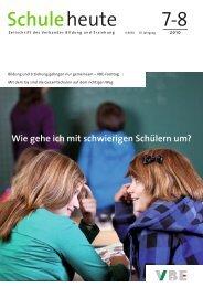 H 1/2 07 - Verband Bildung und Erziehung, Landesverband NRW