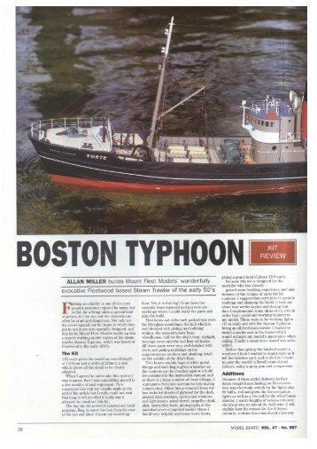 BOSTON TYPHOON - Mount Fleet Models