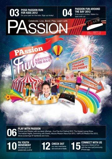 Jul-Sept 2012 - PAssion Card