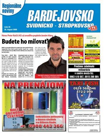 Herec Peter Kočiš (43) už onedlho popletie ženám ... - regionPRESS