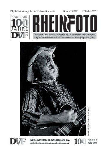 Ausgabe 4/2009 - DVF-Land Rheinland