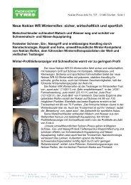 Vastaanottajan nimi - Nokian Tyres