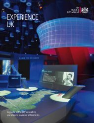 Experience UK Brochure - UK Trade & Investment