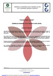 Cornelia Diamond All Inclusive concept - Golf 2 Belek