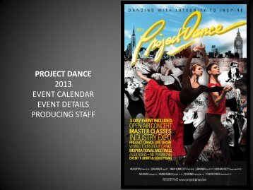 download pdf here - Project Dance
