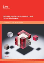 IFAD's Private-Sector Development and Partnership Strategy