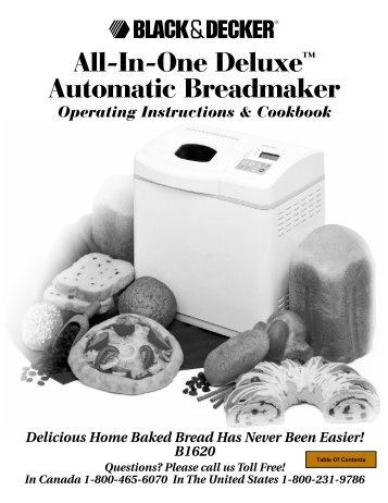 All-In-One Deluxe™ Automatic Breadmaker - Bread Machine Digest