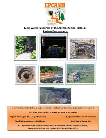 Mine Water Resources of the Anthracite Coal Fields of ... - epcamr