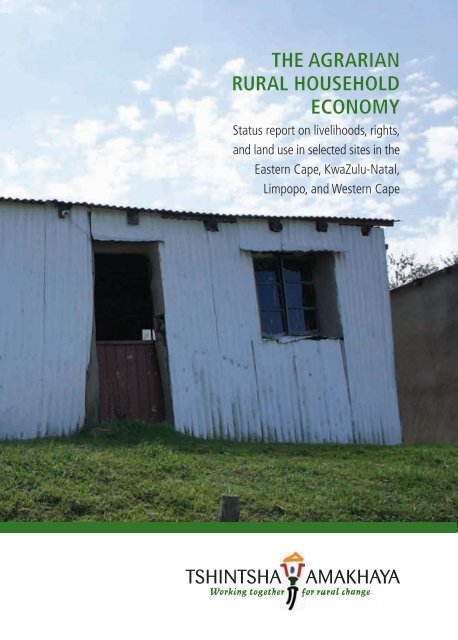 THE AGRARIAN RURAL HOUSEHOLD ECONOMY on