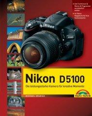 Nikon D5100 - ISBN 978-3-8272-4738-4 Markt+Technik Verlag