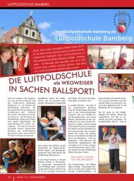 IN SACHEN BALLSPORT! - Luitpoldschule Bamberg
