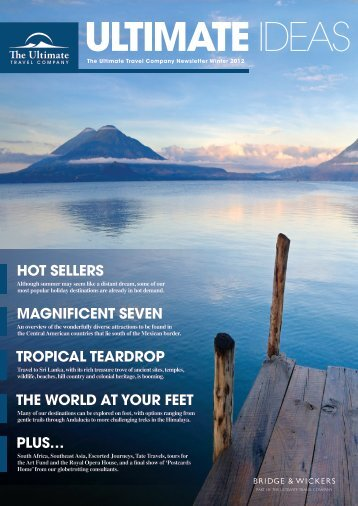 HOt SelleRS - The Ultimate Travel Company