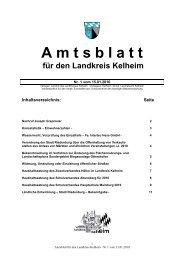 Herrn Joseph Grepmeier - Landkreis Kelheim