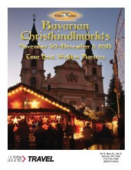Bavarian Christkindlmarkts -- November 30 ... - MTS Travel