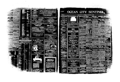 Dec 1920 On Line Newspaper Archives Of Ocean City