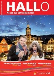 Haller Weihnacht - Stadt Schwäbisch Hall