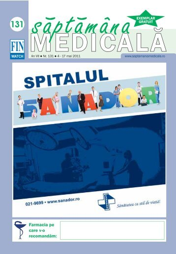 FIN - Saptamana Medicala