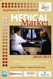 Supliment ONCOLOGIE 2010 - Saptamana Medicala