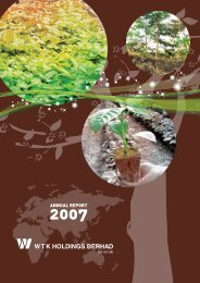 WTK's Commitment to Sustainable Forestry & Forest Management