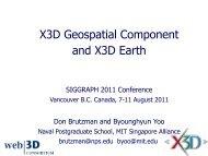 Don Brutzman - X3D: Extensible 3D Graphics for Web Authors