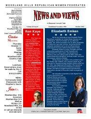 WHRWF Newsletter 38 October 2012 - Woodland Hills Republican ...